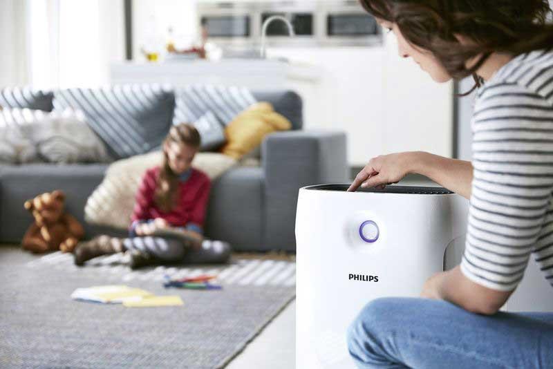 Depuratore e purificatore aria per casa
