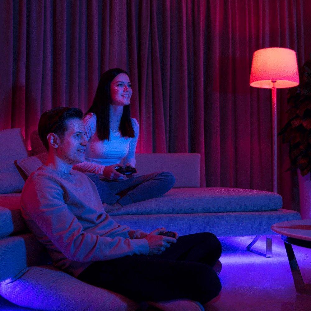 regolazione colore lampadina