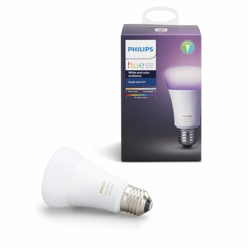 questa lampadina intelligente si adatta alla luce ambientale, rendendo l'ambiente più accogliente